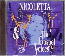 """CD ALBUM  NICOLETTA   """"THE GOSPEL VOICES"""""""