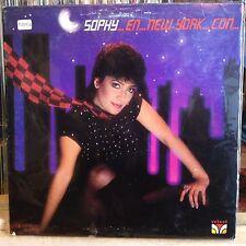 [SOUL/LATIN]~EXC LP~SOPHY~...En...New York...Con..El...Mejor..!~[1983~VELVET Iss