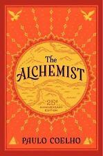 The Alchemist by Paulo Coelho 25th Anniversary Edition (2014, Hardcover)