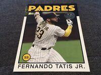 2021 Series 1 1986 Topps #86B-100 Fernando Tatis Jr. - San Diego Padres