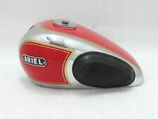 Ariel 350cc Red PAINT Chrome Petrol/Fuel Complete Tank