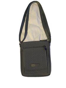 vera bradley crossbody wallet.   This Bag Is Gray In Color