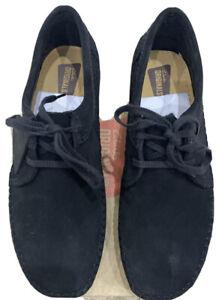 Clarks Originals, Weaver, Black Suede, Size 4 UK