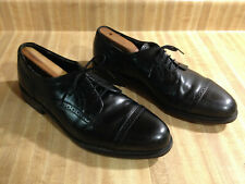 Dexter Cap Toe Oxford Shoes Mens 11M Brogue Black Leather Dress Made in Usa