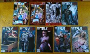 True Blood: Tainted Love (2011) 1A,1B,2B,3A,4B,5B,6B + Both Legacy Copies of #1