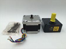 Nema34 86BYG 15N.m Stepper Motor Gearbox Ratio 5:1 4A Geared CNC Speed Reducer