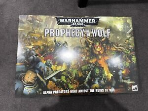 Warhammer 40k Prophecy Of The Wolf Boxset