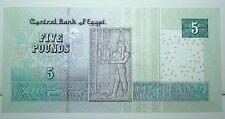 2002 Egypt 5 Five Pounds Replacement Banknote