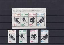 Bund BRD 1971 Michel Block 6 XX Olympische Spiele + Einzelmarken postfrisch**