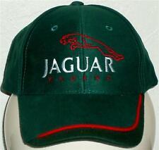 Unisex Baseball Cap with Embroidered Jaguar Racing Car Logo