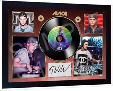 DJ AVICII Hey Brother Music SIGNED FRAMED PHOTO PRINT AND Mini LP Great gift #2