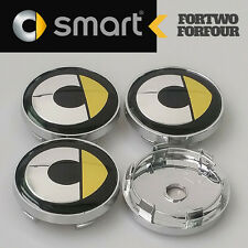 4 pcs SMART FORFOUR Wheel Center Hub Cap CAPS 60mm for Forfour & Roadster    NEW