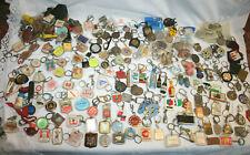Gros lot 200 porte clefs collection publicitaire vintage