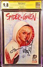 MARVEL Comics SPIDER-GWEN #1 CGC SS 9.8 X3 MAN SILK VENOM GHOST SPIDER MARY JANE