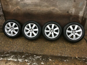 GENUINE VW POLO 6N 6R 15 INCH ALLOY WHEELS WITH TYRES