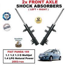 delantero Izquierdo + Derecho Amortiguadores para FIAT PANDA 169 1.1 1.2 1.3 1.4