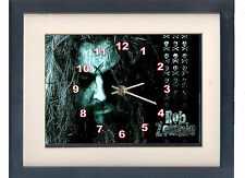 Rob Zombie. Celebrity framed print and clock. Music memorabilia.