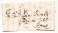 Prefilatelica prephilatelic 1846 da Palermo per Roma