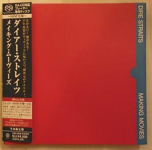 Making Movies [SACD] von Dire Straits   SHM-CD   Zustand sehr gut