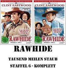 Rawhide - Tausend Meilen Staub - Season/Staffel 6.1 + 6.2, 8 DVD Set NEU + OVP!