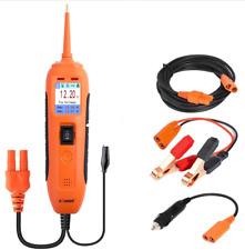 Electrical System Circuit Tester 12V/24V Car Battery Tester DC/AC Power Probe