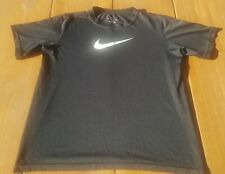 Nike Boys Dri Fit Short Sleeve Tee Shirt Black Size Large