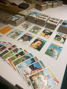 1977 Topps Baseball Cards Near Complete Set 551 All Different