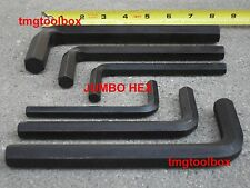 JUMBO HEX KEY WRENCH SET 8,10.12.14,17,19MM, INDUSTRIAL QUALITY METRIC ALLEN. AJ