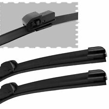 "For Audi A4 Avant 01-04 Estate Front Windscreen 22"" 22"" Flat Aero Wiper Blades"