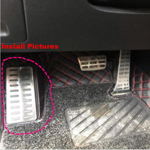 Fits Most of Hyundai Kia Foot Rest Pedal Pad Cover Footrest Pedals 21*8.7CM W 3M