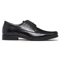 Mens Julius Marlow Lisbon Leather Black Lace Up Dress Formal Work Comfort Shoes