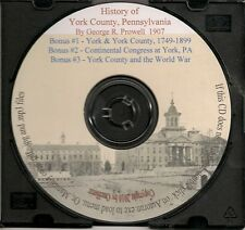 History of York County Pennsylvania In Two Volumes + Bonus Books