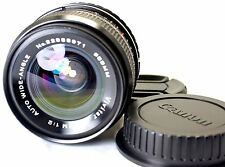 Vivitar 28mm f2.0 Manual Focus Lens adapted to Canon EOS EF cameras T6i 70D 60D