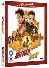 Disney Marvel Ant-Man and the Wasp 3D & 2D BLU-RAY