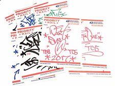 Original signed Part one sticker collection American urban graffiti street art