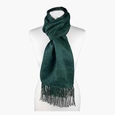 (Green) Alpaca Wool Blend Unisex Scarf. Alpaca Scarf by INKITA