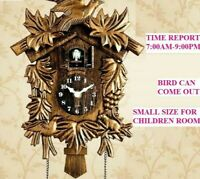 Cuckoo Clock Wall Watch Home Time Alarm Digital Needle Bedroom Decoration Clocks