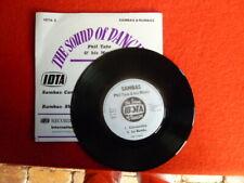 SOUNDS OF DANCE SAMBAS & RUMBAS VINYL RECORD 45  EP PHIL TATE