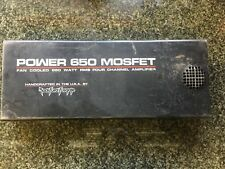 Rockford Fosgate Power 650 Mosfet Cover Four Channel Amplifier / / COVER ONLY!!!