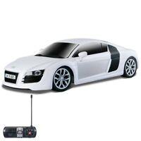 Maisto 81064 1:24 Remote Control 2009 Audi R8 V10, White