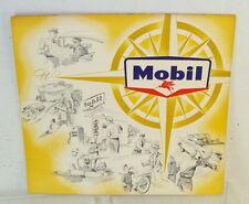 Original 1959 Mobil Oil Company Give-Away Customers Scenic Calendar