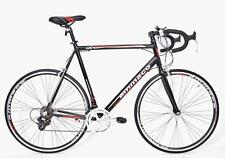 AMMACO XRS650 MENS ALLOY RACING ROAD BIKE SHIMANO 14 SPEED 48CM BLACK/RED