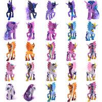 "My Little Pony Figure Doll 3-8"" Hasbro Princess Luna Celes Rainbow Dush Kid Toys"