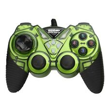 Hot USB PC Computer Online Game Pad Controller WIN 9X/2000/XP/VISTA Green Color