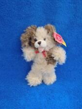"Build A Bear Shaggy Puppy Dog Mini Furry Friend 7"" Plush w/Tags - Mint !"