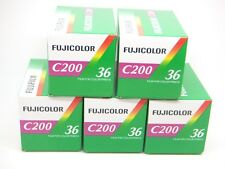 5x FUJI FUJICOLOR C200 35mm 36exp CHEAP COLOR PRINT FILM by 1st CLASS ROYAL MAIL