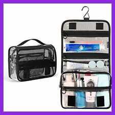KIPBELIF Clear Travel Toiletry Bag Waterproof Hanging Toiletries LARGE Makeup Co