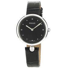 Reloj de pulsera PULSAR Dama - PM2153X1 - PERLA - Cuero negro