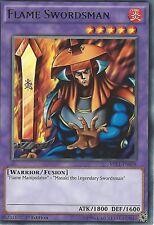 YU-GI-OH CARD: FLAME SWORDSMAN -  RARE - MIL1-EN038 1ST EDITION