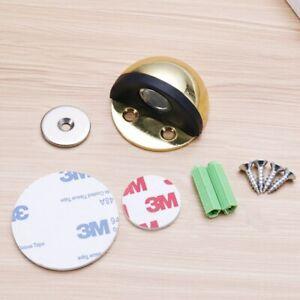 Premium Magnetic Door Stop Stopper Heavy Duty Stainless Steel Hidden Holder